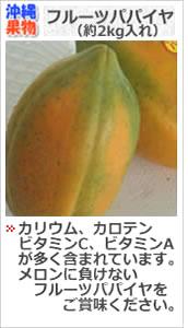 沖縄フルーツパパイヤ