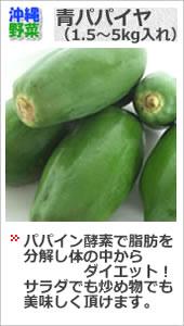 沖縄青パパイヤ